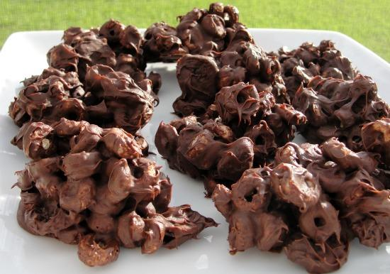 Chocolate Cherry Clusters