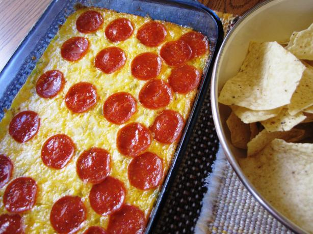 Aunt Nancy's Famous Hot Cheese Dip