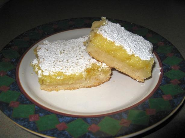 Lemon Squares/Lemon Bar Cookies