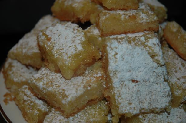 Lovely Lemon Bar Cookies