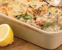 Salmon and Asparagus Lasagne