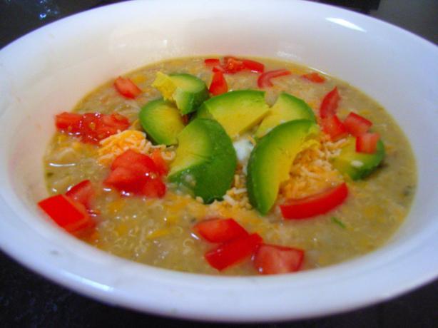 Southwestern Quinoa Chowder