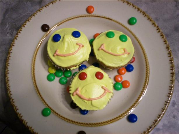 Happy Face Cupcakes