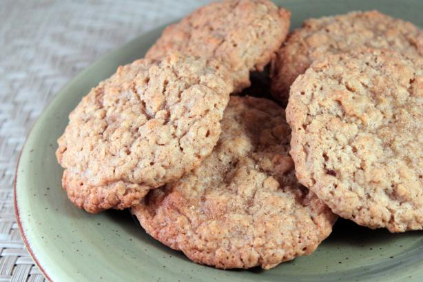 Chinese 5-Spice Oatmeal Cookies
