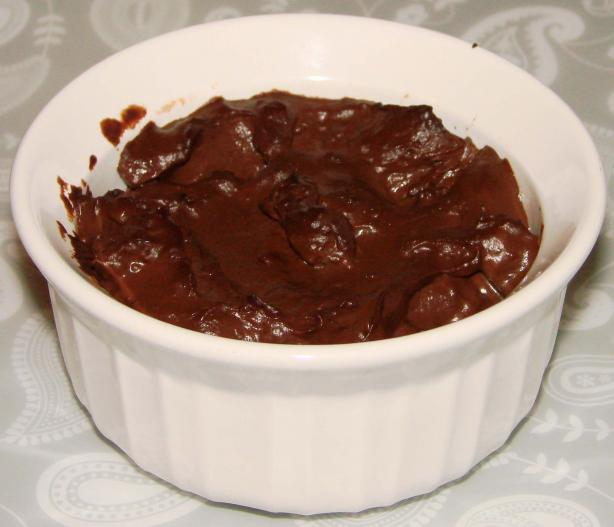 Chocolate Pudding for One