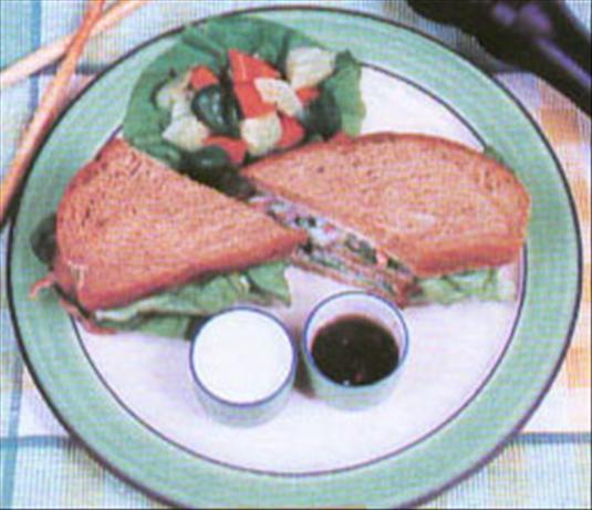Crunchy Healthy Sandwich