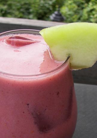 Berry-Melon Agua Fresca