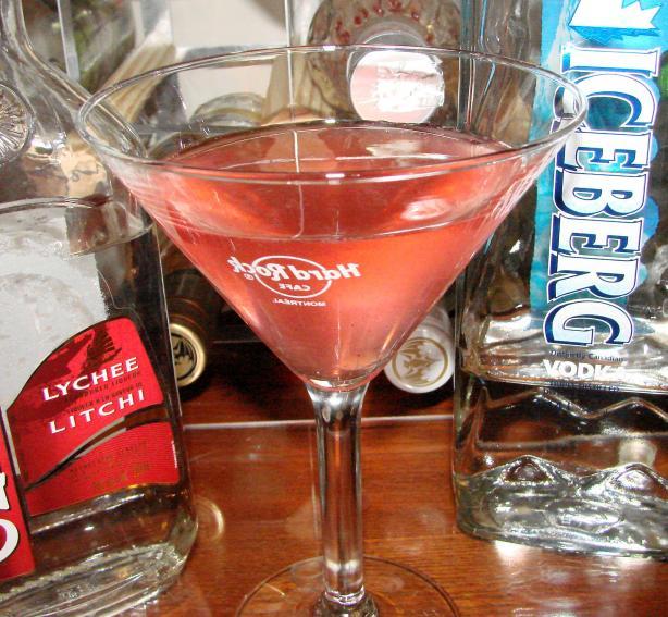 Lychee-Tini Lychee Martini