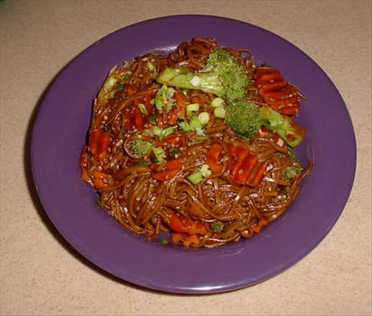 Soba in Toasted Sesame Seed Sauce