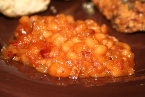Aunt Vera's Baked Beans