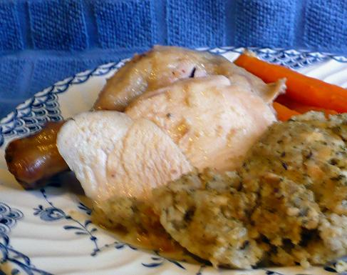 Camembert Roast Chicken