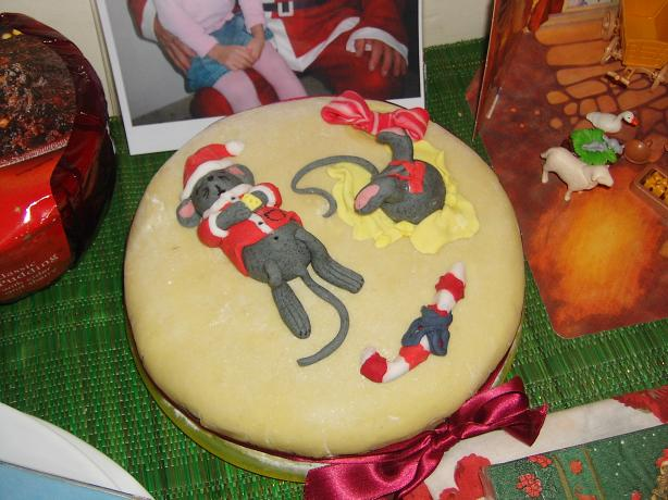 Christmas Cake ( With Blitzed Fruit)
