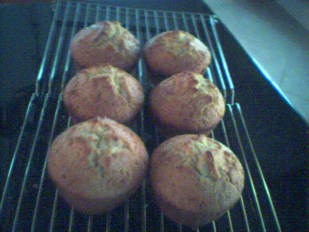 Eggnog Muffins 1982