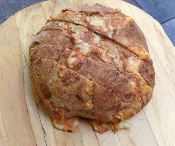Swiss Cheese Rye Bread