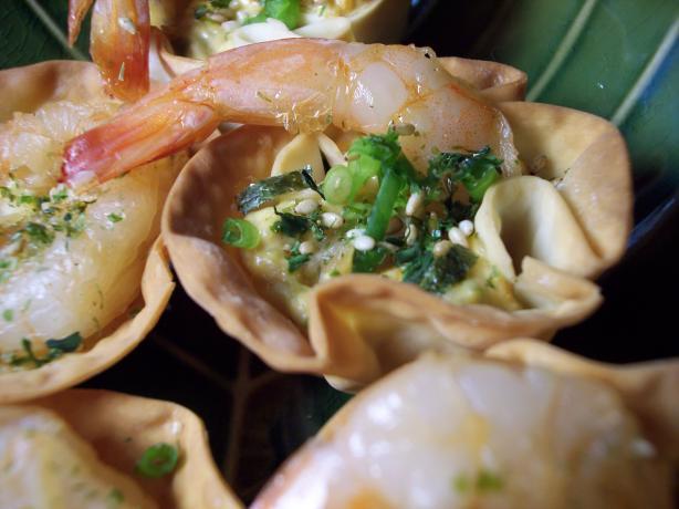 Shrimp Wonton Cups