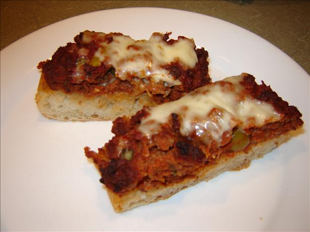 Barbecue or Oven Baked Pizza Bread