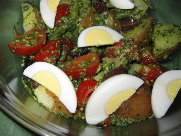 Pesto Nicoise Salad