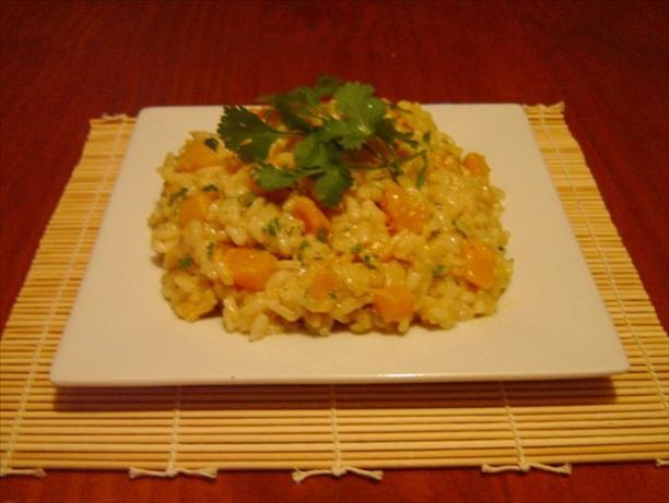 Paul Gayler's Thai Inspired Risotto With Pumpkin