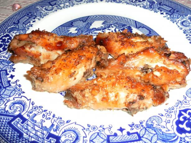 Kate's Caramelized Garlic Chicken Wings (Only 3 Ingredients!)