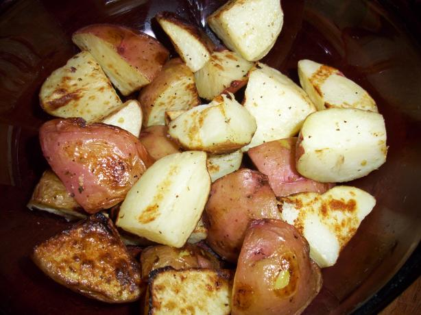 Grilled Greek New Potatoes