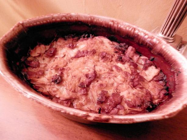 Potato Bake With Onions and Pancetta #5FIX