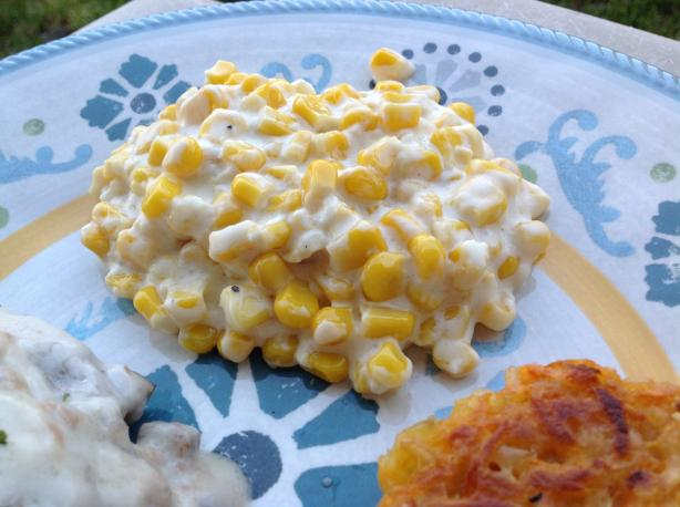 Garlic Cream Cheese Corn