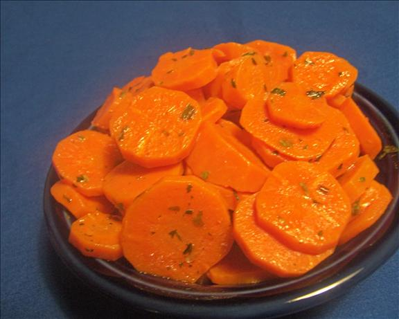 Parslied Browned Buttered Carrots