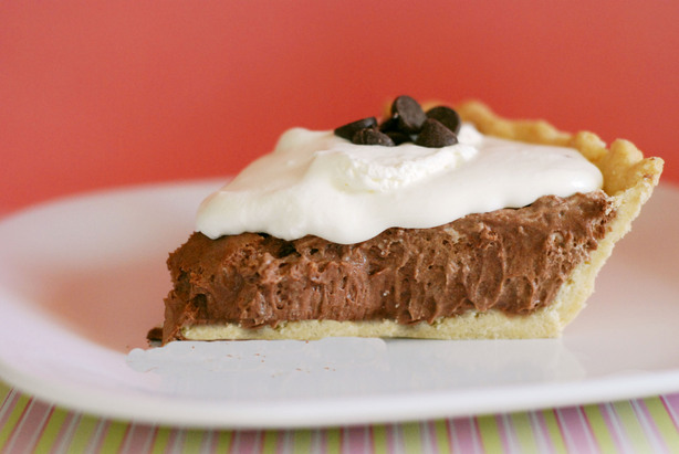 Fluffy Chocolate Silk Pie