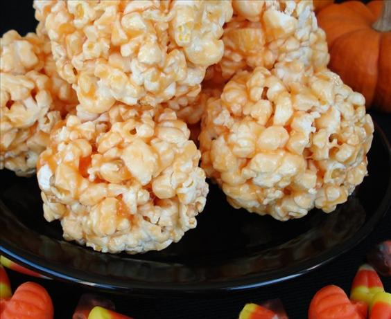 Popcorn Balls - a Special Treat for Halloween!