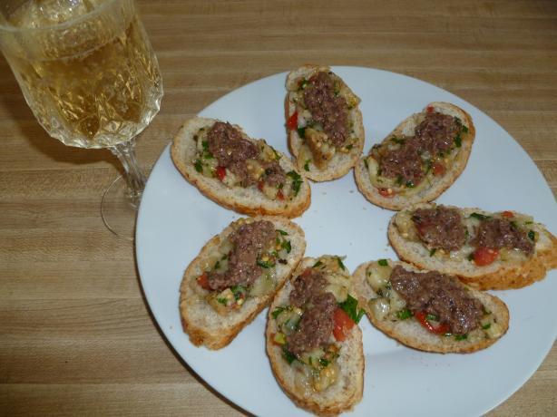 Eggplant Caviar With Tapenade