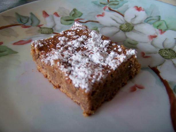 Chickpea Blondies (Gluten-Free)