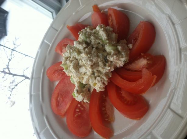 Eggless Salad (Vegan or Vegetarian)