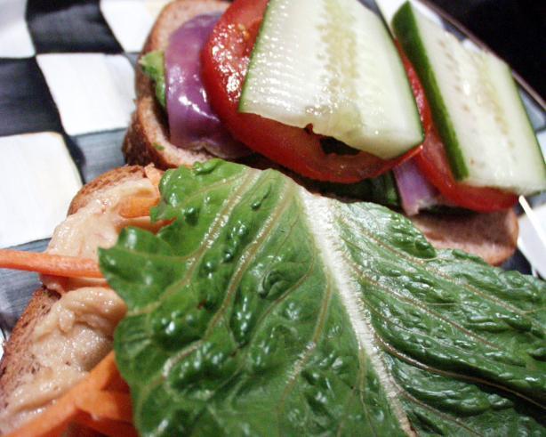 Veggie Sandwiches (Vegan)