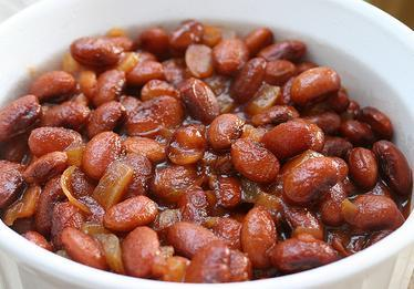 BBQ Baked Beans With Apples