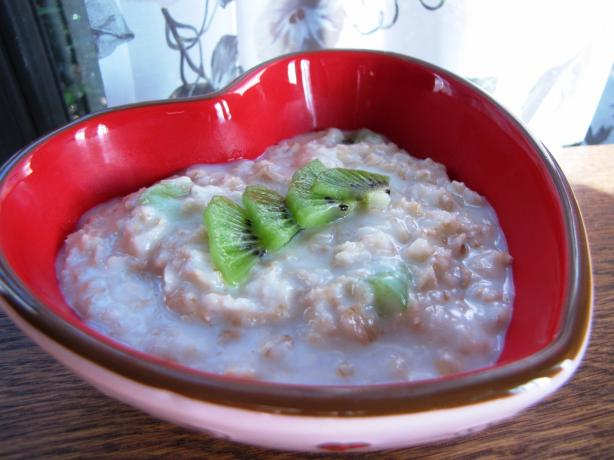 Coconut Porridge (Oatmeal)