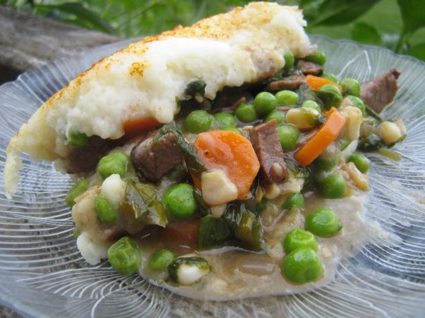 Roast Beef Cottage Pie