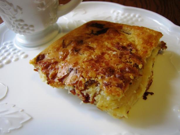 Apple Bacon Cheddar Bake