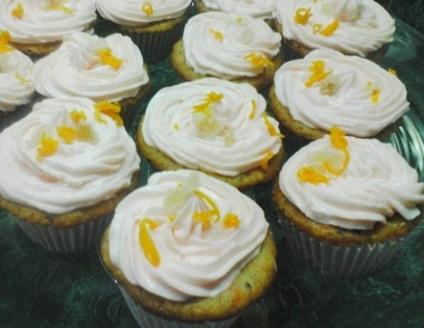 Newborn Ginger Babies II (Orange Cream Frosting)