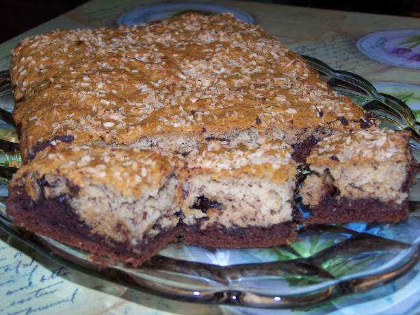 Splenda Cocoa Bottom Banana Bars