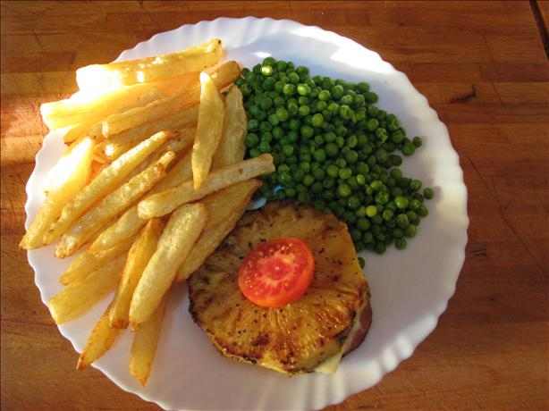 Gammon Steaks With Pineapple and Cheese
