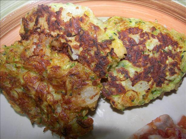 Zucchini & Cheese Fritters