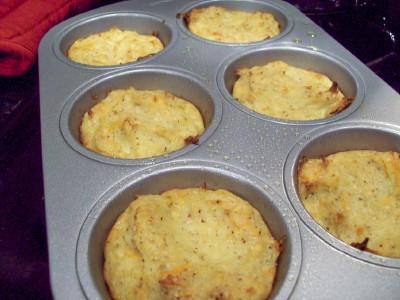 Passover Miniature Potato Kugel