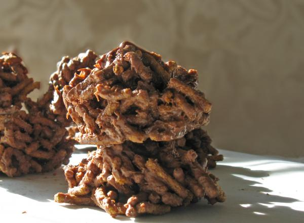 Fiber One Chocolate Haystacks