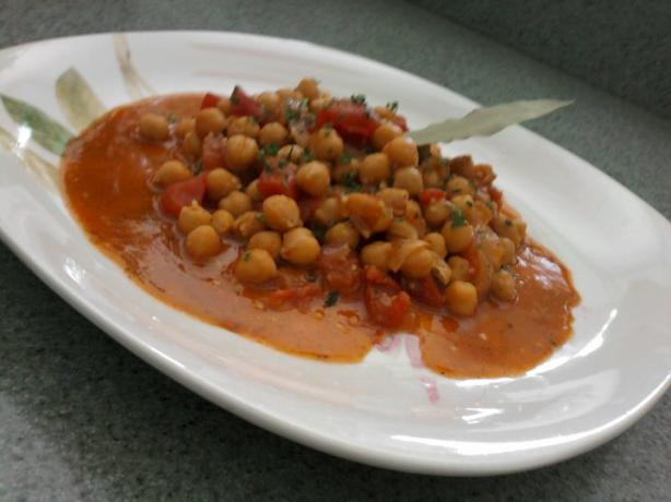 Middle Eastern Chickpeas