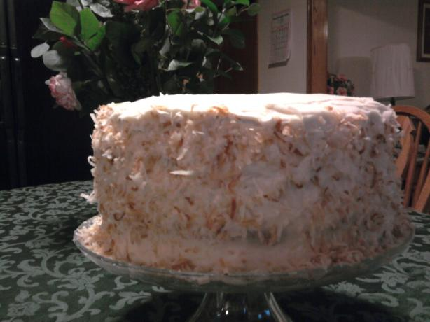 Ultimate Coconut Cake II