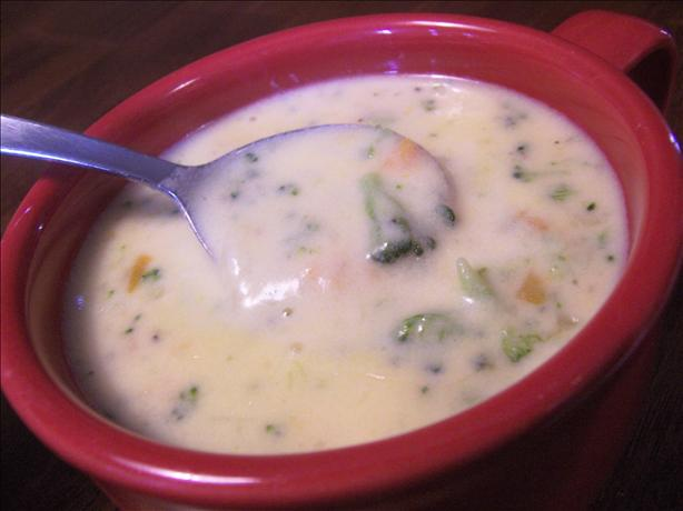 Canadian Broccoli Cheese Soup