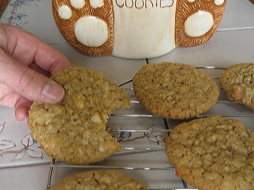 Mrs. Field's Macadamia Nut Cookies