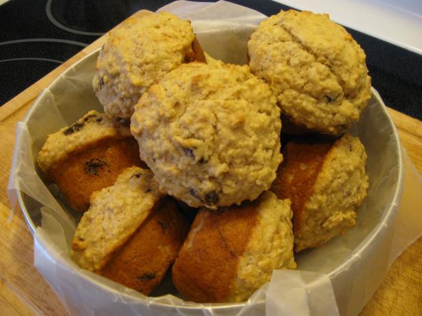 Magnolia Cafe Oatmeal Muffins