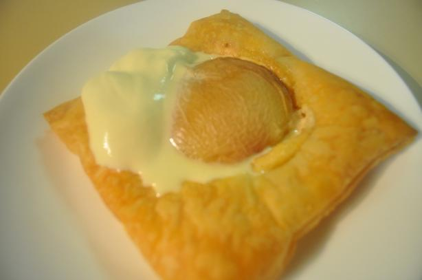 Mascarpone-Stuffed Peach Pastries