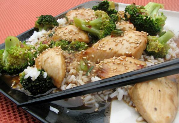 Chicken and Broccoli Skillet Stir-Fry